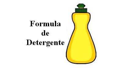 Formula de detergente liquido para lavar louças com CMC (carboximetilcelulose)