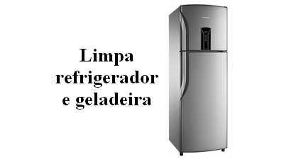 Formula para fazer limpador de refrigerador e geladeira