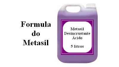 Formula para fazer Metasil